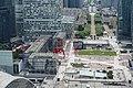 Parvis @ Rooftop observatory @ Grande Arche @ La Défense @ Paris (35053550231).jpg