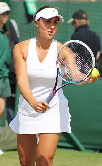 Tamira Paszek - Paszek at the 2014 Wimbledon Championships