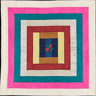 Bojagi - Image: Patchwork Bojagi (Wrapping Cloth) MET DP158238