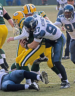 Quarterback sack In gridiron football, tackling the quarterback for a loss before he/she is able to throw a forward pass