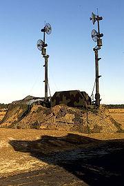 Patriot antenna mast grp