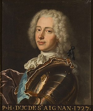 Paul-Hippolyte de Beauvilliers, duke of Saint-Aignan - Image: Paul Hippolyte de Beauvilliers