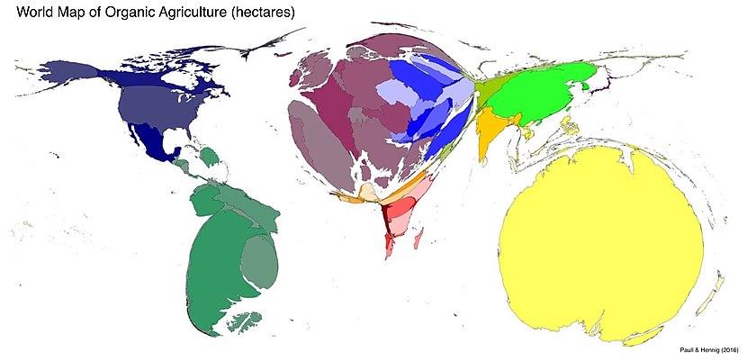 Cartogram - Wikiwand