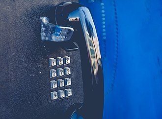 Nortel payphones - dial pad from Centurion payphone