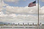 Pearl Harbor Survivor Theodore F. Roosevelt ashes placed aboard USS Utah 140320-F-AD344-094.jpg