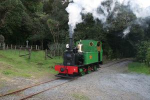 Whangarei Steam and Model Railway Club - Peckett 0-4-2T N°2157 of 1955