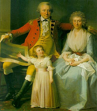 Peder Anker - Peder Anker and his family