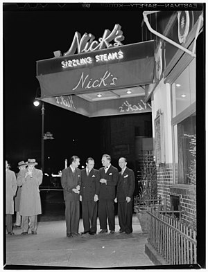 Pee Wee Russell - Pee Wee Russell, Muggsy Spanier, Miff Mole and Joe Grauso, Nick's (Tavern), New York, ca. June 1946