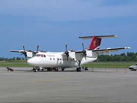 Pelita Air Service Dash 7 at Balikpapan.jpg