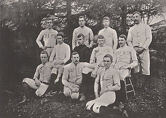 1888 Penn State Nittany Lions football team - Image: Penn State Football 1888