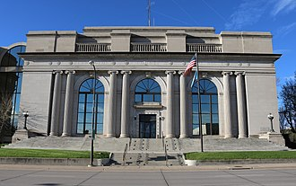 Pennington County, South Dakota - Image: Pennington County Courthouse 2017