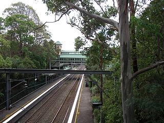 Pennant Hills railway station railway station in Sydney, New South Wales, Australia