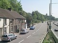 Pentrebach Road and Southbound A470 - geograph.org.uk - 421739.jpg
