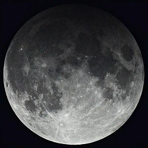 February 2017 lunar eclipse - Image: Penumbral lunar eclipse 2017.02.11