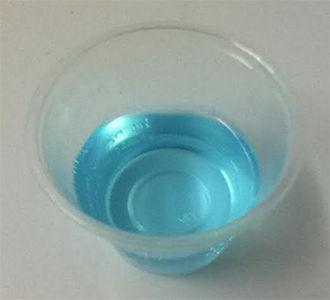 Chlorhexidine - Perichlor brand 0.12% chlorhexidine gluconate solution.