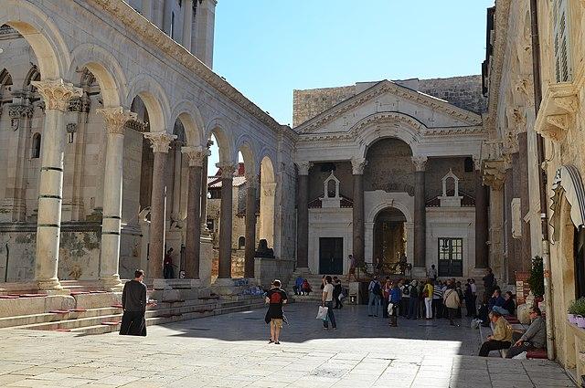 Сплит Дворец Диоклетиана