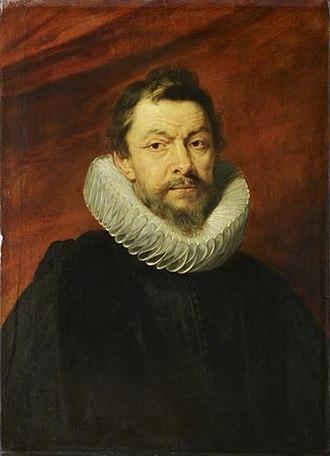 Great Council of Mechelen - Henri IV de Vicq, 12th President. By Rubens, Louvre.
