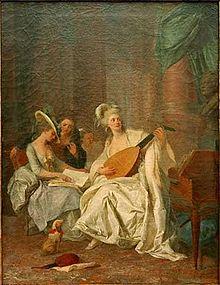 Johann Anton de Peters: Huldigung an Gluck, um 1775 (Quelle: Wikimedia)
