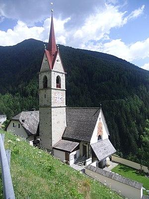 Pfarrkirche zu den Vierzehn Nothelfern in Mühlbach (Gais, Südtirol)