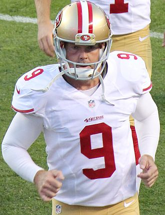 Phil Dawson - Phil Dawson in his 49ers uniform.