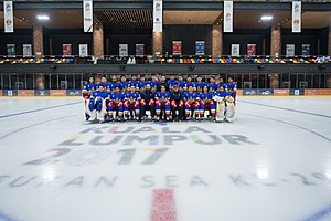 Philippines at the 2017 Southeast Asian Games - The Philippine national ice hockey team.