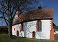 "Photo of the ""Evangelische Pfarrkirche (Güttersbach)"" from the south. This is also more text.JPG"