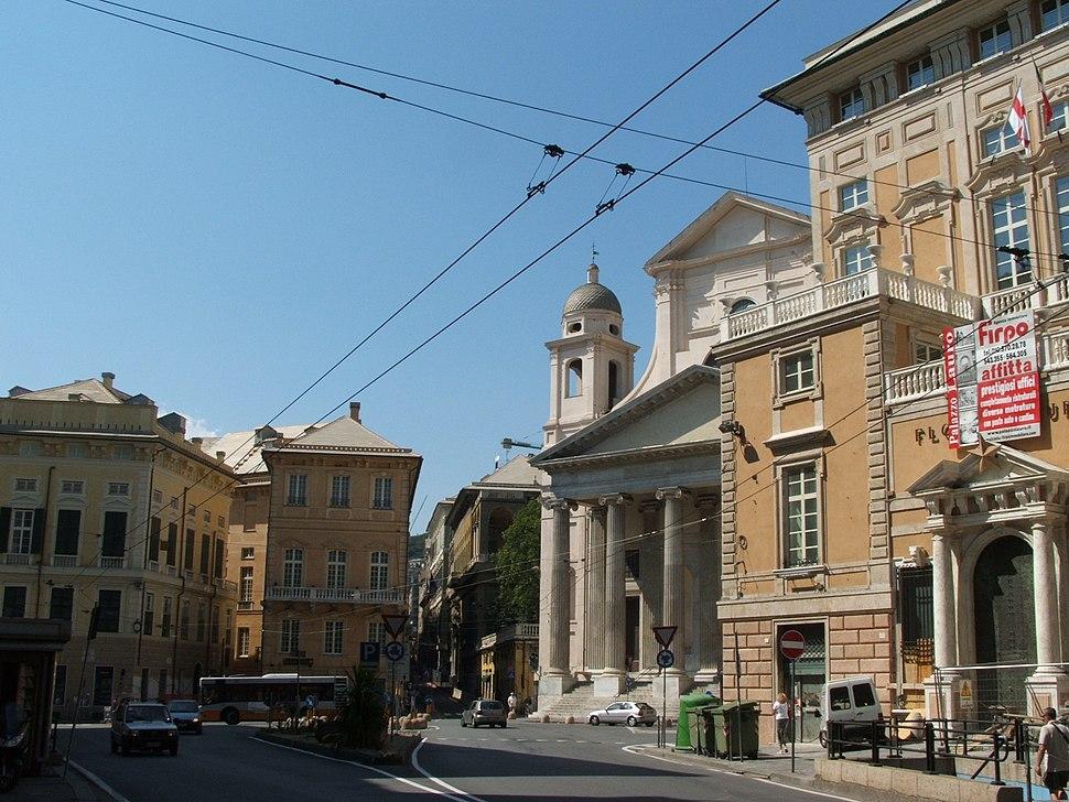 Piazza dell'Annunziata, Genova
