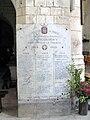 Picquigny église (plaque Morts pour la France) 1.jpg