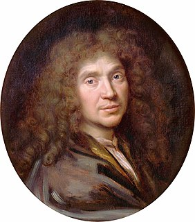 Molière 17th-century French playwright and actor