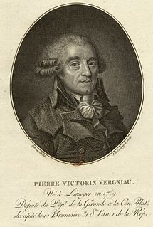 Pierre Victurnien Vergniaud 18th-century French politician
