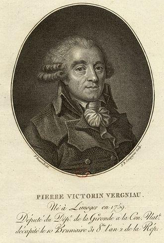 Pierre Victurnien Vergniaud - Image: Pierre Vergniau