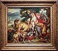 Pierre andrieu, caccia al leone (da delacroix), post 1855, 01.jpg