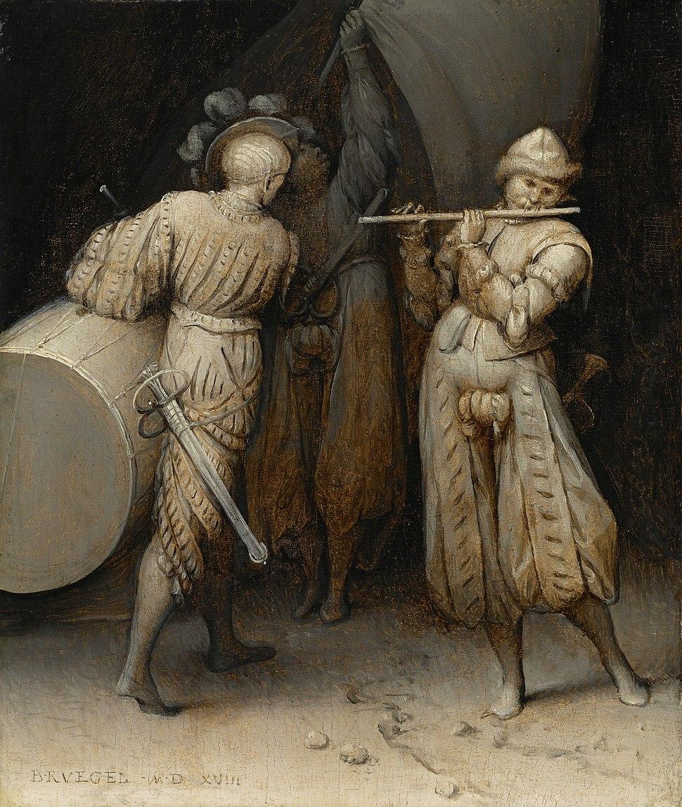Pieter Bruegel de Oude - De drie soldaten