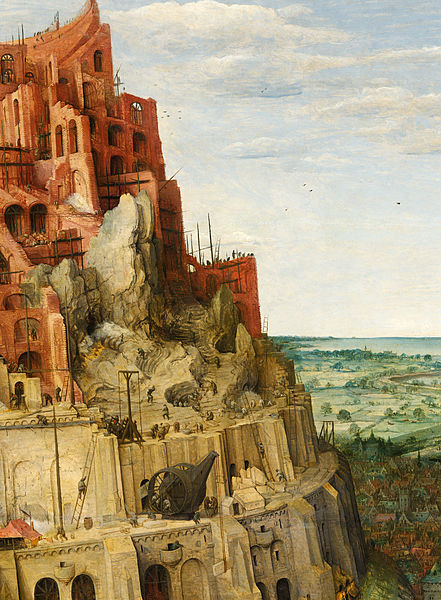 File:Pieter Bruegel the Elder - The Tower of Babel (detail upper right) - Google Art Project.jpg