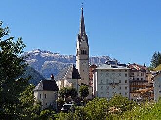 Livinallongo del Col di Lana - the Parish Church