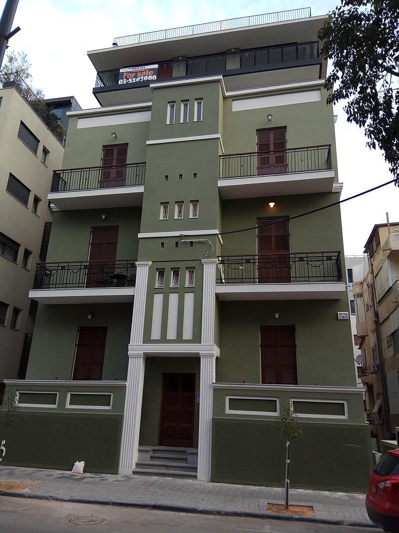 בית שעבר שימור בתל אביב