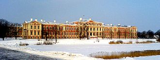 Louis XVIII of France - Jelgava Palace, Louis XVIII's residence from 1798 to 1801, and from 1804 to 1807