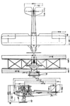 Pitcairn PA-3 Orowing 3-view Le Document aéronautique February,1927.png