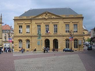 Jacques-François Blondel - Building on the town square of Metz, work of Jacques-François Blondel.