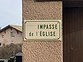Plaque Impasse Église - Solutré-Pouilly (FR71) - 2021-03-02 - 2.jpg