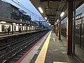 Platform of Uzumasa Station 6.jpg