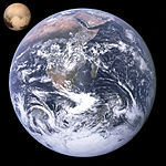 Pluto, Earth size comparison.jpg