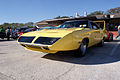Plymouth Roadrunner Superbird 1970 Lemon Twist Yellow LFront TBS 09Feb2014 (14399756148).jpg