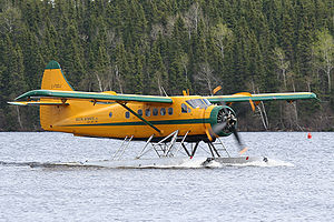 "De Havilland Canada DHC-3 Otter - ""Polish Otter"" note the four blade prop"