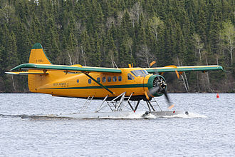 De Havilland Canada DHC-3 Otter - Otter on floats, with four blade prop