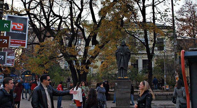 Patriarch Evtimiy Square