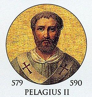 Pope Pelagius II - Image: Pope Pelagius II