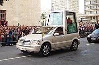 Popemobil Mai 2007