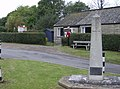 Porchfield war memorial and village hall - geograph.org.uk - 570512.jpg