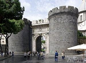 Porta Capuana - Porta Capuana from the east.